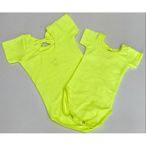 Collant Plié Amarelo Neon