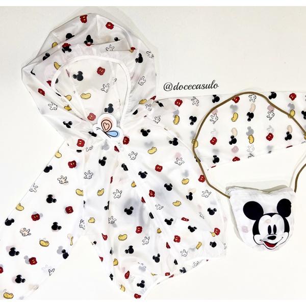 Capa de Chuva Mickey