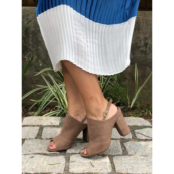 Sandal boot couro Sepia Donna Clô