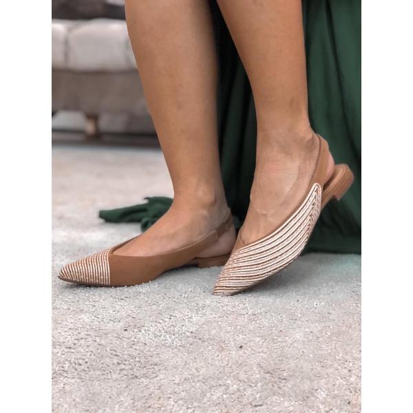 Elegante sem perder o conforto, aposte na sapatilha para todas as ocasiões.