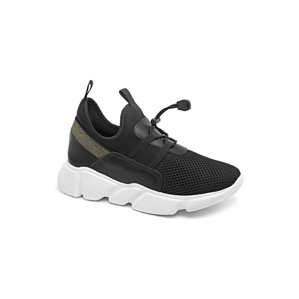 Tênis chunky preto Donna Clô um modelo que tem que ter para compor qualquer look,com um toque moderno e conforto andando juntos!
