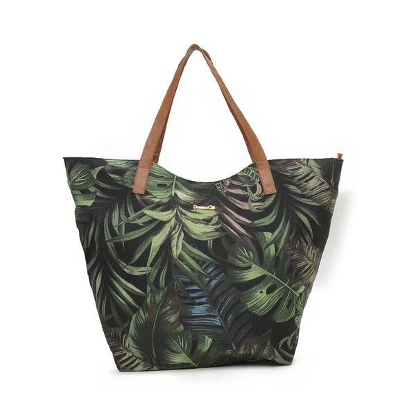 Bolsa de praia Media tecido impermeável, ótima opção para levar em passeios e deixar tudo organizado!
