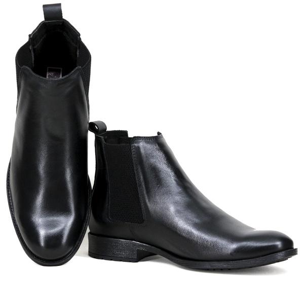 Chelsea Boots Social Liso Napa Preto