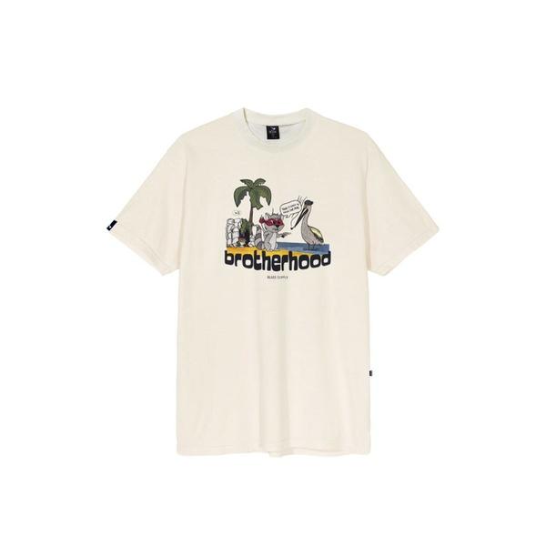 Camiseta Blaze Tee Brotherhood Off White