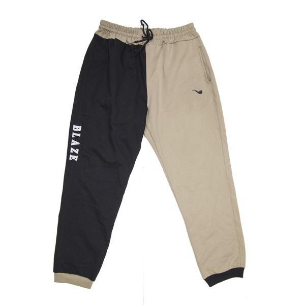 Sweat Pants Blaze Supply Bicolor Black
