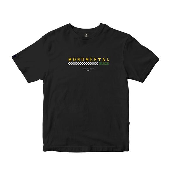 Camiseta Blaze Supply Tee Monumental Black