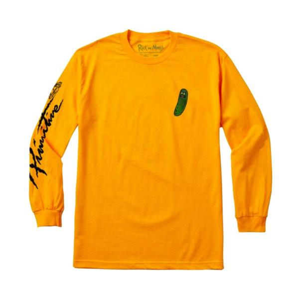 Longsleeve Primitive x Rick n Morty Pickle Yellow