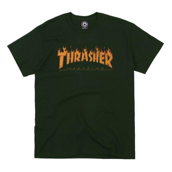 Camiseta Thrasher Halftone Green