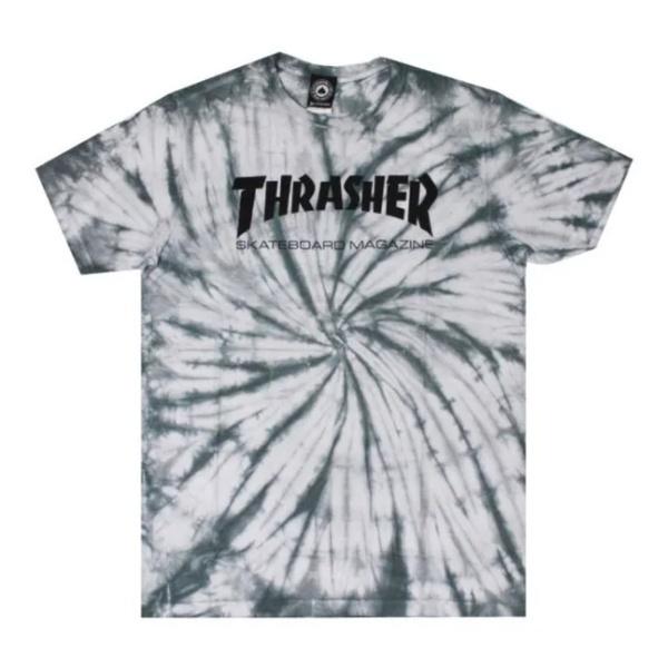 Camiseta Thrasher Skate Mag Spider Dye White