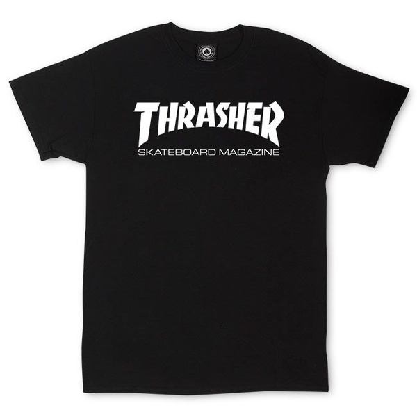 Camiseta Thrasher Skate Mag Black