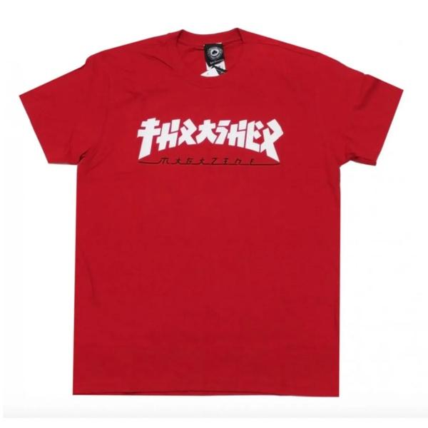 Camiseta Thrasher Godzila Red