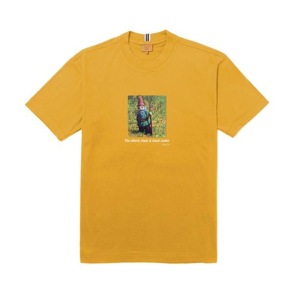 Camiseta Class Etheric Plane Mustard