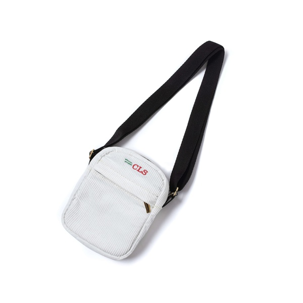 "Corduroy Side Bag Class ""CLS"" Grey"