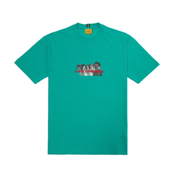 Camiseta Class Conscious Verde Água