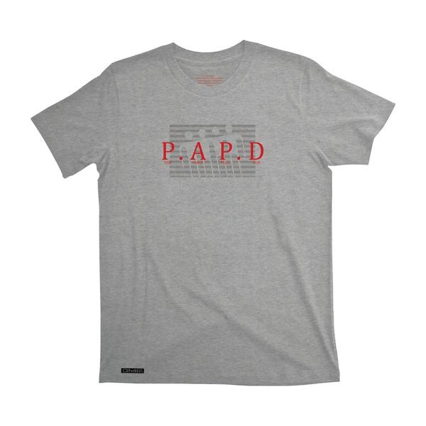 Camiseta Colletividade P.A P.D Cinza