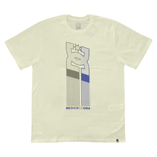 Camiseta DC Shoes Basic Elevator Star Snow White