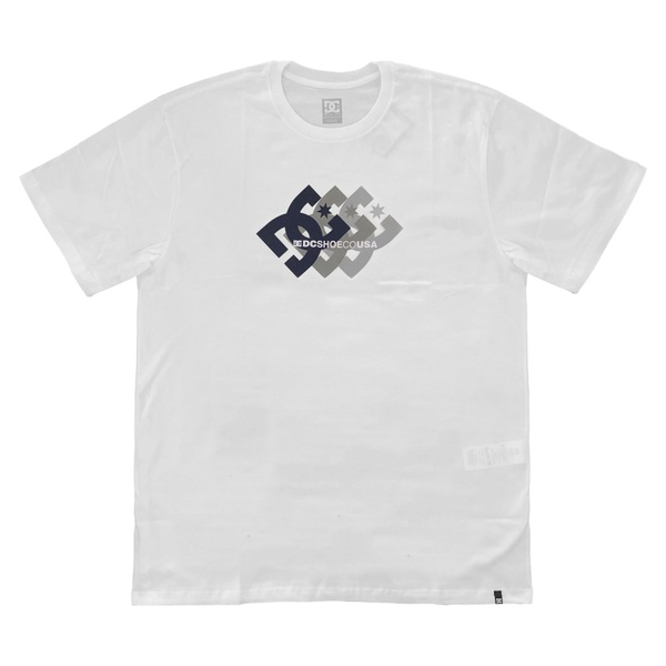 Camiseta DC Shoes Basic Ballad Snow White