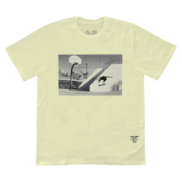 Camiseta DC Shoes Tiago Lemos HellFlip Snow