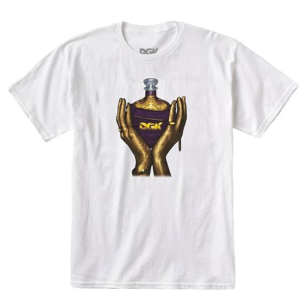 Camiseta DGK Raise Up White
