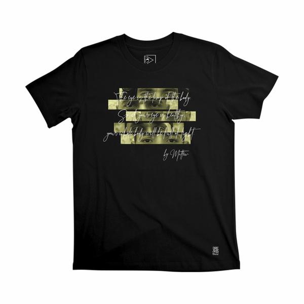 Camiseta Dreams Eyes 6 22 Black