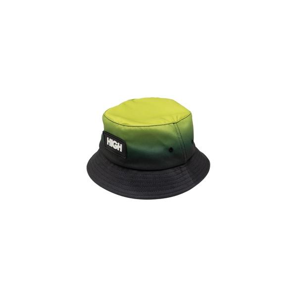 Gradient Bucket Hat High Green