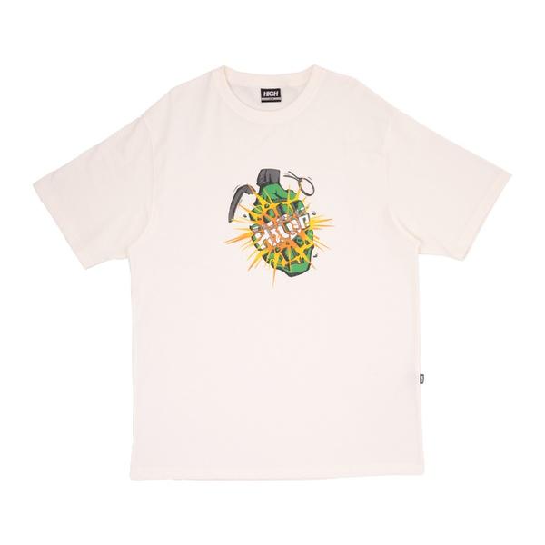 Camiseta High Tee Granade White