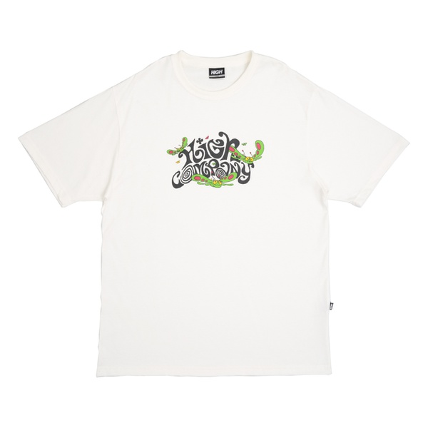 Camiseta High Tee Groove White
