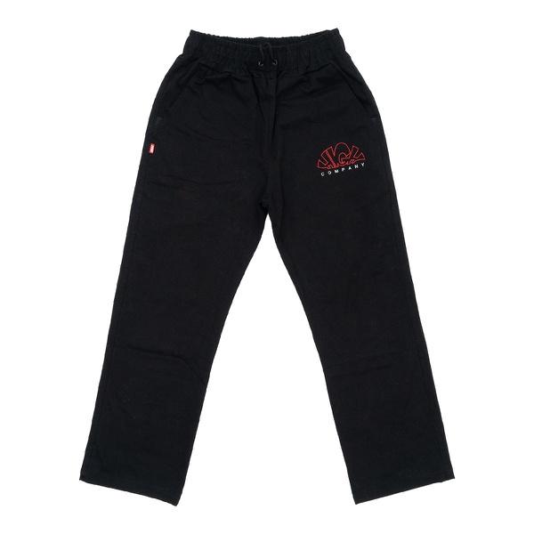 Overdyed Denim Pants High Nuclear Black