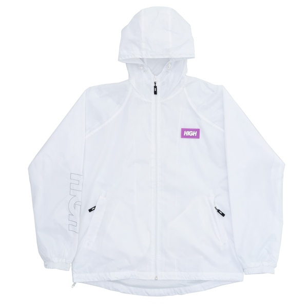 Rain Coat Label High White