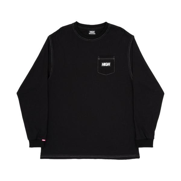 Longsleeve High Colored Black