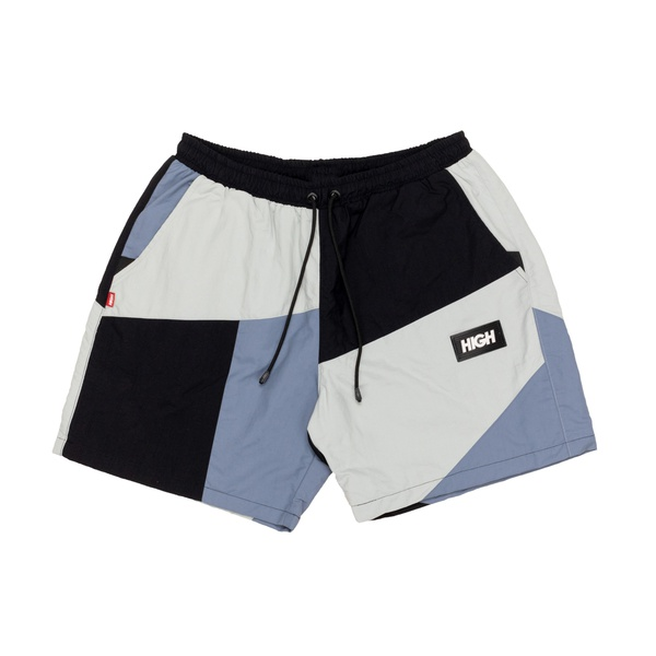 Block Shorts High Black