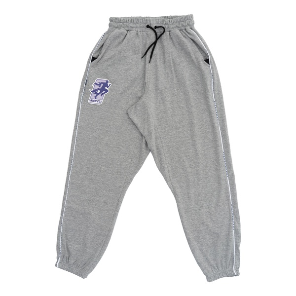 Sweatpants High Exercise Heather Gray