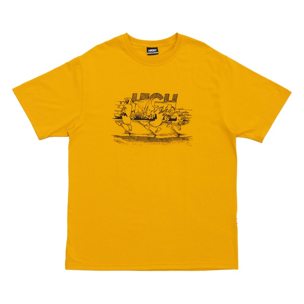Camiseta High Flyah Gang Yellow