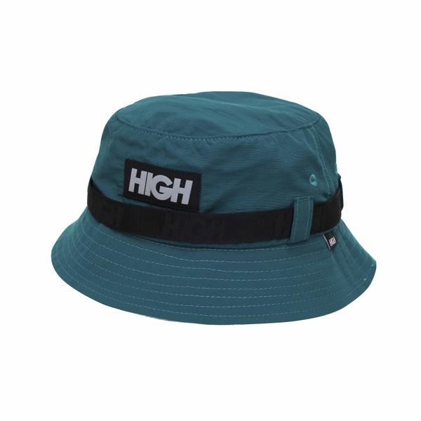 Strapped Bucket Hat High Nigh Green