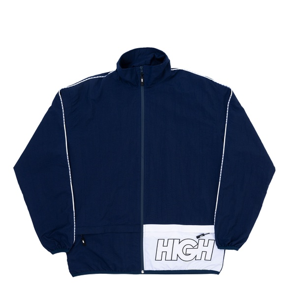 Trespasser Jacket High Navy White