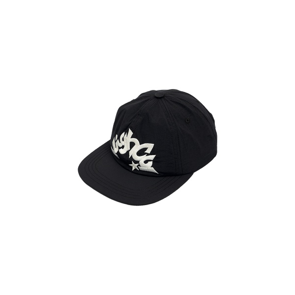 6 Panel High Star Black
