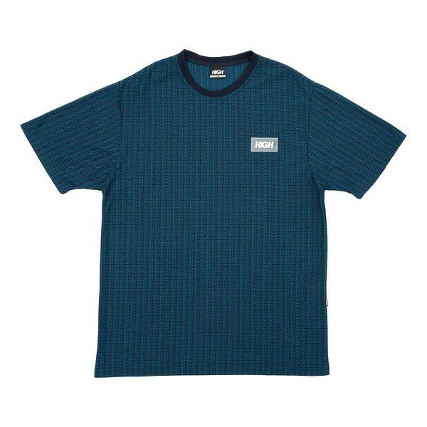 Camiseta High Kinitted Tee Blocks Navy