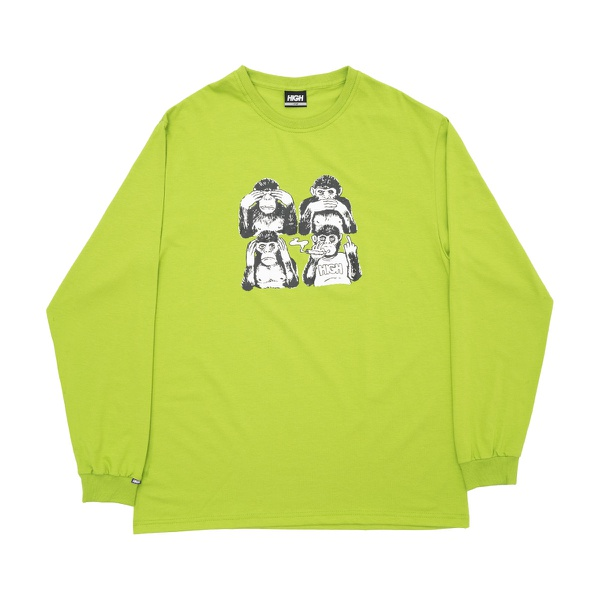 Longsleeve High Monkeys Green