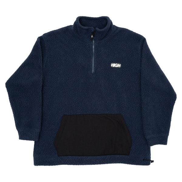 Sherpa Fleece Jacket High Navy
