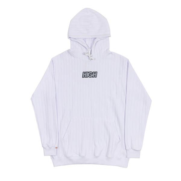 Boss Hoodie High Logo White