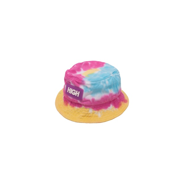 Dyed Bucket Hat High Blue