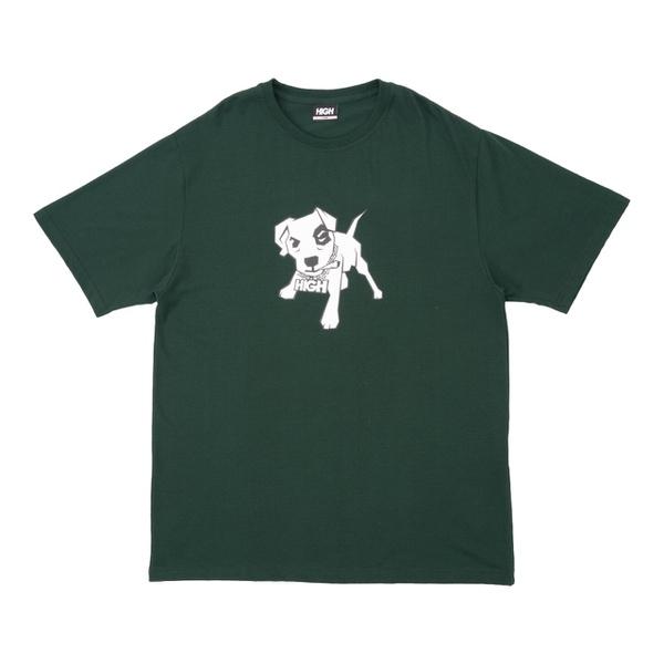 Camiseta High Tee Mutt Night Green