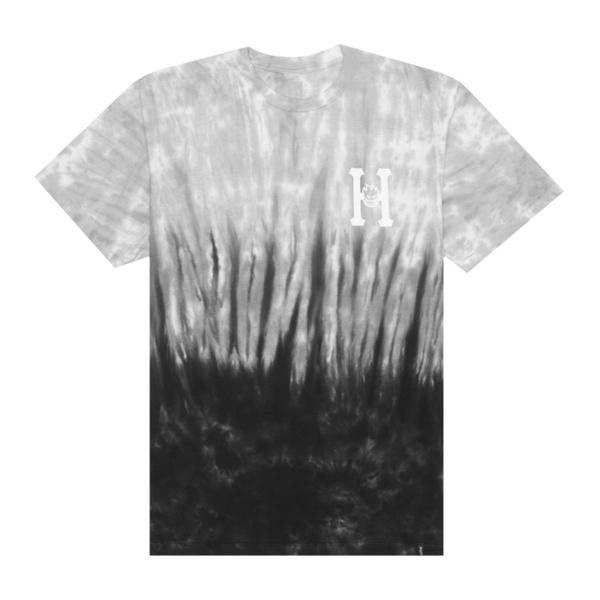 Camiseta HUF x Spitfire Classic Tie Dye Black