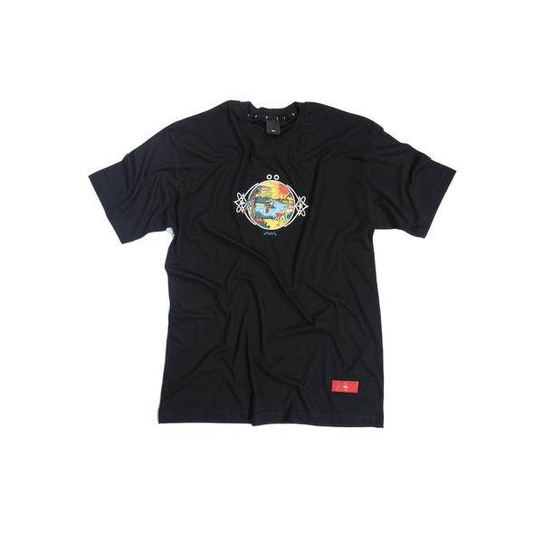 Camiseta ÖUS Ciclo do Bem Preto