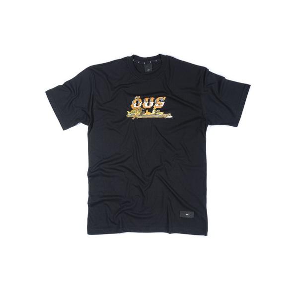 Camiseta ÖUS Fuga Preto