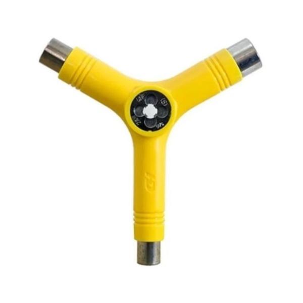 Chave Hondar Y Multifuncional Amarelo