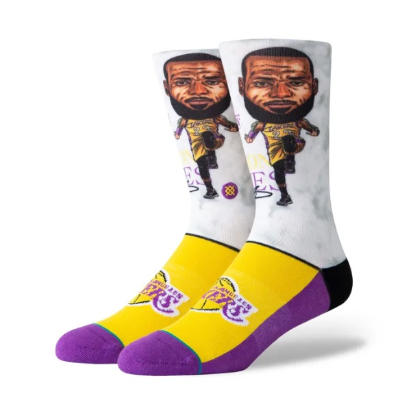 Meia Stance Lebron Big Head Multi