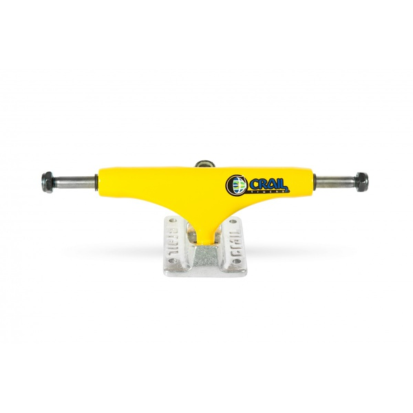 Truck Crail 30 Anos 00s Amarelo Mid 142mm