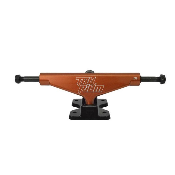 Trurium Trucks Laranja Preto Low 139MM