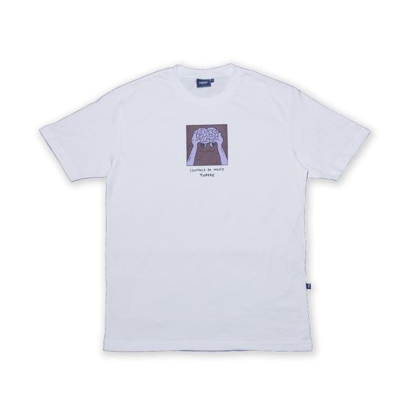Camiseta Tupode Controle da Mente Branco